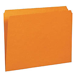 Smead Straight Cut File Folders Letter