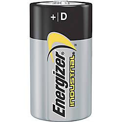 Energizer Industrial Alkaline D Batteries D