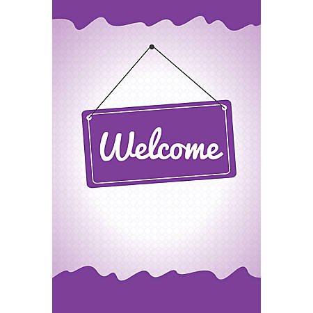 Custom Floor Decal Template, FDV Welcome Board