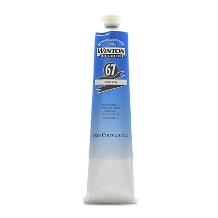 Winsor & Newton Winton Oil Colors, 200 mL, Cobalt Blue, 67