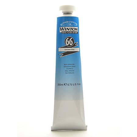 Winsor & Newton Winton Oil Colors, 200 mL, Cerulean Blue, 66