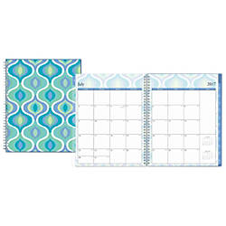 Blue Sky Fashion Academic WeeklyMonthly Planner