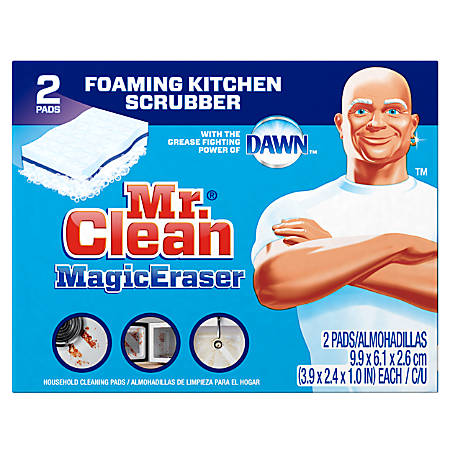 Mr Clean Magic Erasers Kitchen Scrubbers
