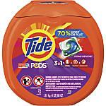 Tide® 3-1 Pods Laundry Detergent, 64 Oz, Pack Of 72