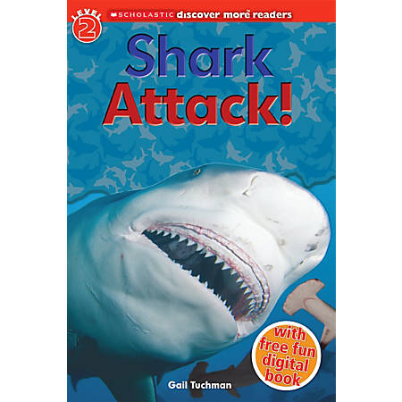 Scholastic Reader, Level 2, Discover More: Shark Attack!, 2nd Grade