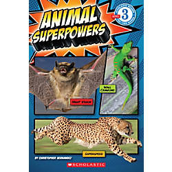 Scholastic Reader Level 3 Animal Superpowers