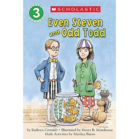 Scholastic Reader, Level 3, Even Steven And Odd Todd, 3rd Grade