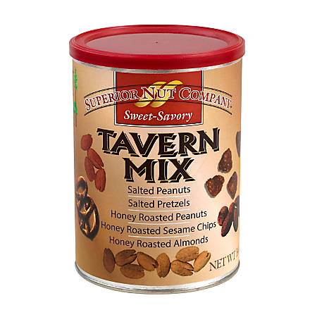Superior Nut Sweet And Savory Tavern Mix, 14 Oz, Pack Of 2