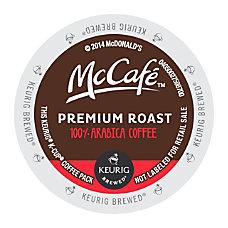 McCafe Premium Roast K Cup Pods