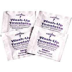 Medline Wash Up Cleansing Towelettes 7