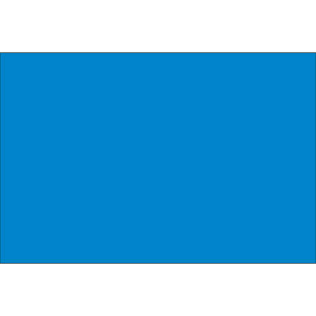 """Tape Logic® Write™On Rectangle Inventory Label Roll, DL634C, 10"""" x 3"""", Light Blue, Roll Of 250"""