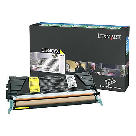 Lexmark™ C5346YX Extra-Yield Yellow Toner