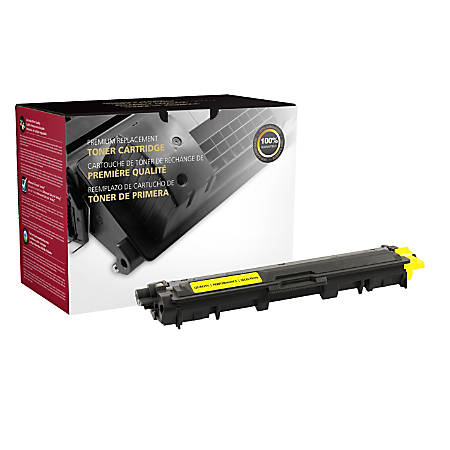 Clover Imaging Group Remanufactured Toner Cartridge, 200731P, (Brother® TN221Y), Yellow