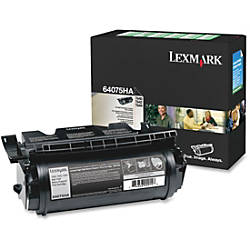 Lexmark 64075HA Black Toner