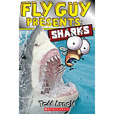 Scholastic Reader Fly Guy Presents Sharks
