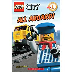 Scholastic Reader Lego City All Aboard