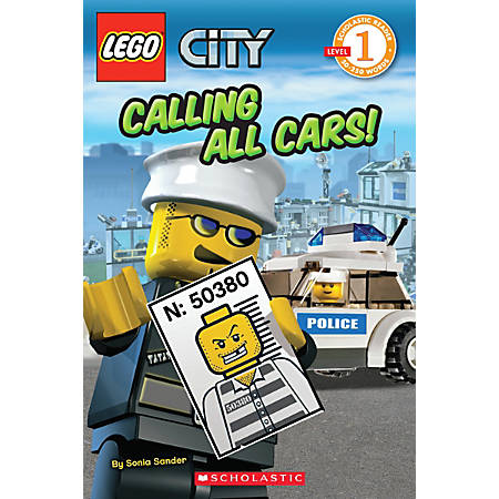 Scholastic Reader, Lego City: Calling All Cars!, 1st Grade