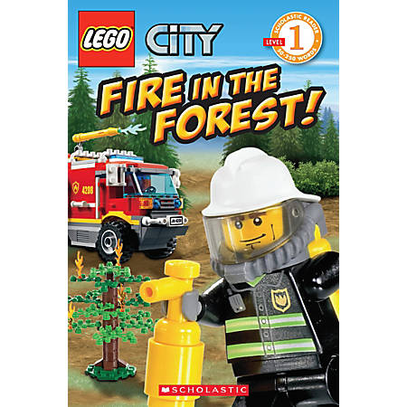 Scholastic Reader, Lego City: Fire In The Forest!, 1st Grade