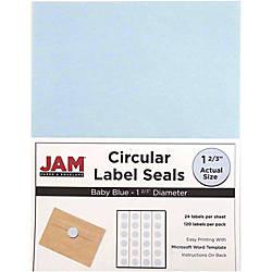 JAM Paper Circle Labels 40528290 1