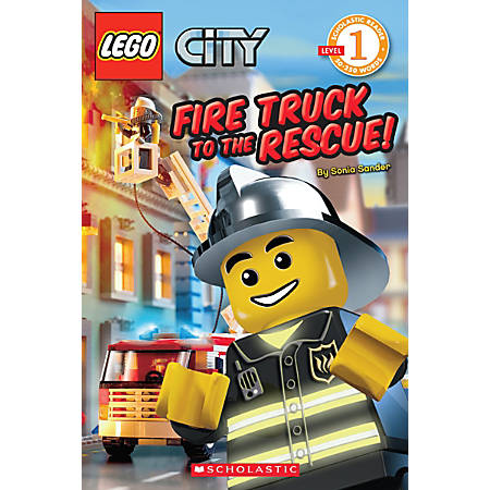 Scholastic Reader, Lego City: Fire Truck To The Rescue!, 1st Grade