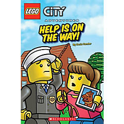 Scholastic Reader Lego City Help Is