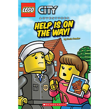 Scholastic Reader, Lego City: Help Is On The Way!, 1st Grade