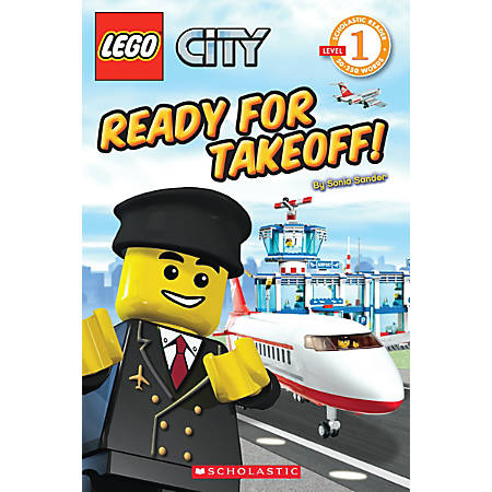 Scholastic Reader, Lego City: Ready For Takeoff!, 1st Grade
