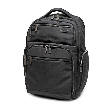 Samsonite® Modern Utility Double Shot Laptop Backpack, Charcoal Heather