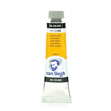 Van Gogh Oil Colors, 1.35 oz, Indian Yellow, Pack Of 2