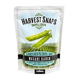 Harvest Snaps Snapea Crisps Wasabi Ranch