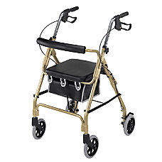 DMI Ultra Lightweight Aluminum Rollator With