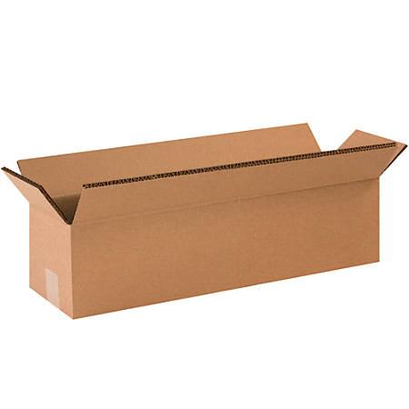 "Office Depot® Brand Double-Wall Heavy-Duty Corrugated Cartons, 48"" x 12"" x 12"", Kraft, Box Of 10"