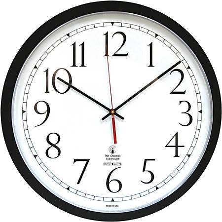 Chicago Lighthouse Self-set Clock - Digital - Quartz