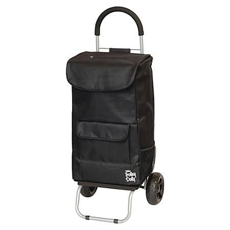 "Dbest Shopping Bag Trolley Dolly, 110 Lb Capacity, 15""H x 13""W x 38""D, Black"