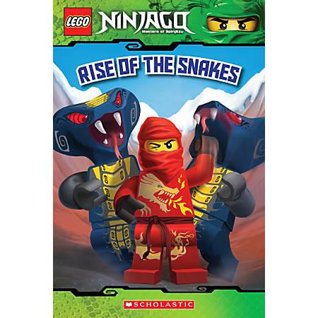 Scholastic Reader, Lego Ninjago #4: Rise Of The Snakes, 3rd Grade
