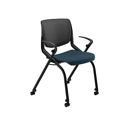 HON® Motivate  Nesting Flex Stack Chair, Cerulean