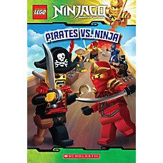 Scholastic Reader Lego Ninjago 6 Pirates