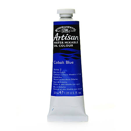 Winsor & Newton Artisan Water Mixable Oil Colors, 37 mL, Cobalt Blue, 178, Pack Of 2
