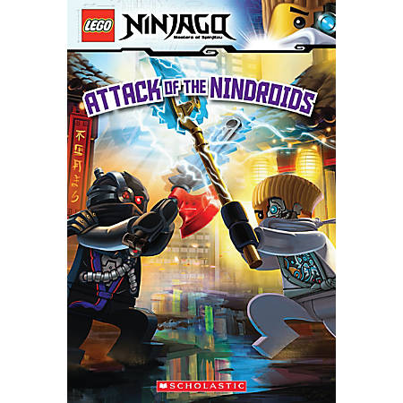 Scholastic Reader, Lego Ninjago #8: Attack Of The Nindroids, 3rd Grade