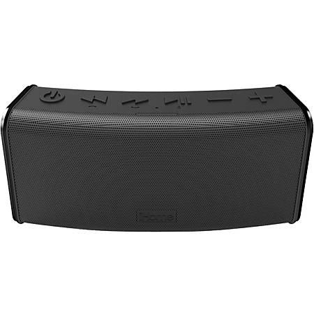 iHome iBT33 Speaker System - Wireless Speaker(s) - Portable - Battery Rechargeable - Black