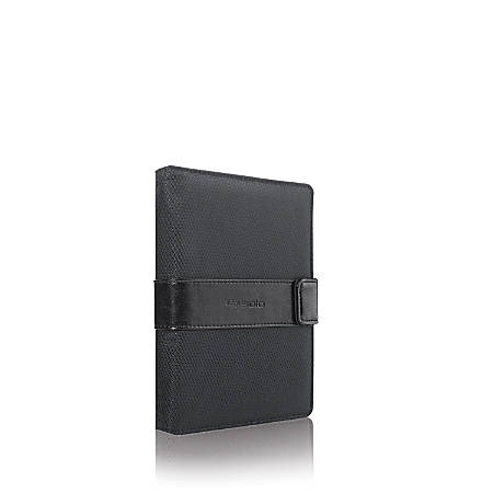 """Solo Classic Universal Fit Tablet/eReader Booklet, 5.5"""" to 8.5"""", Black"""