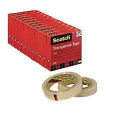 Scotch Transparent Tape 1 x 2592
