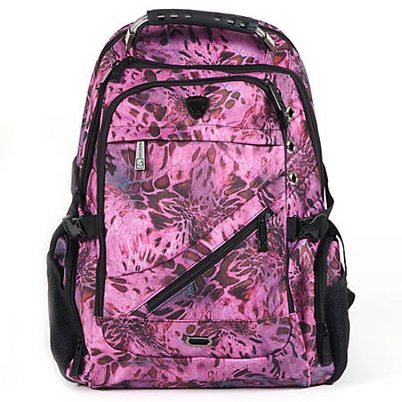 Guard Dog Security ProShield II Prym1 Edition Tactical Laptop Backpack, Pink Camo