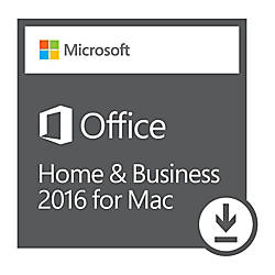 Office Home Business 2016 For Mac