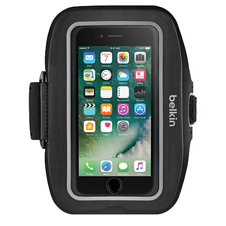 Belkin® Sport-Fit Plus Armband For Apple® iPhone® 7, Black