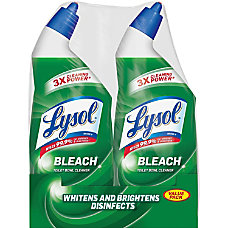 Lysol Toilet Bowl Cleaner With Bleach
