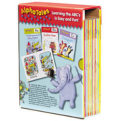 Scholastic Alpha Tales Box Set