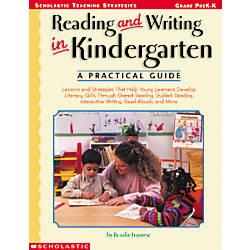 Scholastic Reading Writing In Kindergarten A