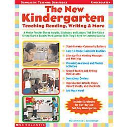 Scholastic The New Kindergarten Teaching Reading