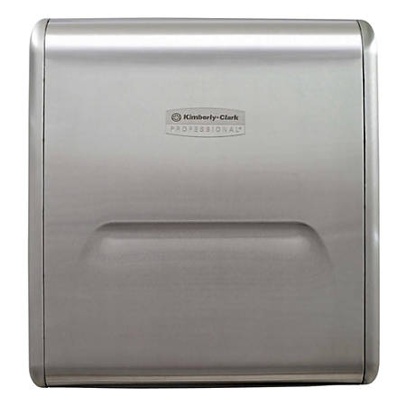 Kimberly-Clark® MOD Recessed Paper Narrow Towel Dispenser, Stainless Steel